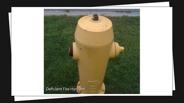 Deficient Fire Hydrant